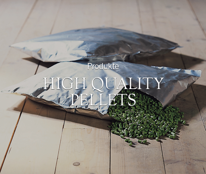 Hopfen - High Qualitiy Pellets